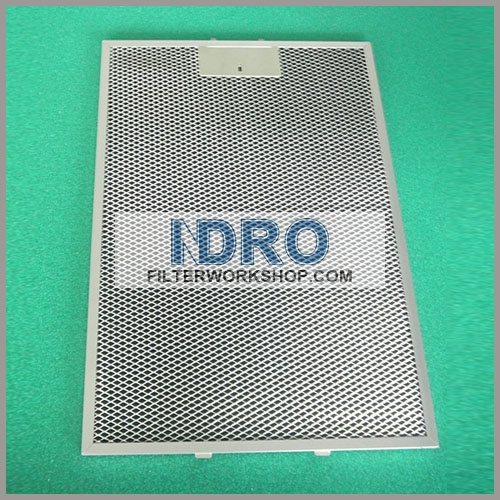 Diamond aluminum mesh air filter for automobile air filter